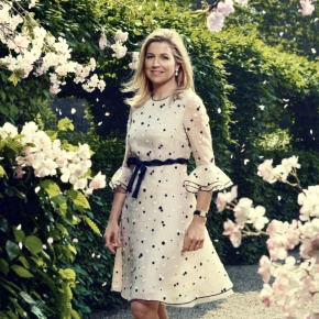 HM Queen Maxima of the Netherlands Attends an Award Ceremony.
