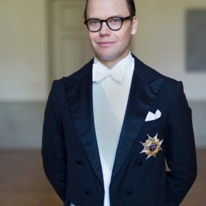 HRH Prince Daniel of Sweden Visits the Hummelstaskolan in Enköping.