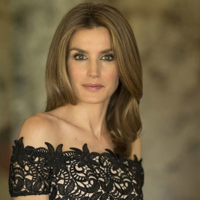 Her Royal Highness Princess Letizia of Asturias Attends a Symposium in Sevilla,Spain.