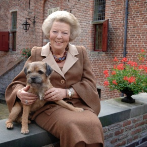 HRH Princess Beatrix of the Netherlands Opens the 4th Edition of the Amsterdam Light Festival.