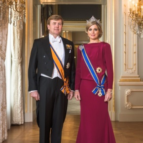 TMs King Willem-Alexander and Queen Maxima of the Netherlands Attend a Concert in Amsterdam.