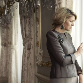 HM Queen Maxima of the Netherlands Opens an Exhibition. (VIDEO)