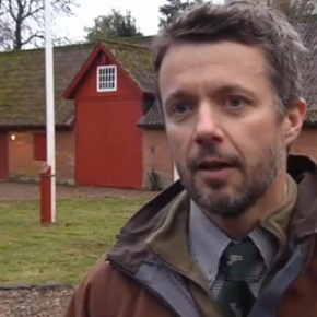His Royal Highness Crown Prince Frederik of Denmark Goes Hunting. (VIDEO)