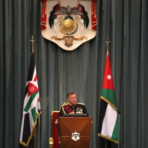 His Majesty King Abdullah II of Jordan Opens the First Ordinary Session of the 17th Parliament. (VIDEO)