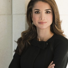 Her Majesty Queen Rania of Jordan Presides Over the QRF Board Meeting. (VIDEO)