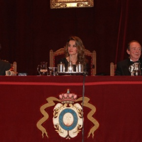 Her Royal Highness Princess Letizia of Asturias Participates in an Induction Ceremony.