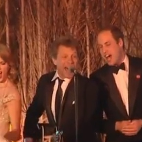 HRH The Duke of Cambridge Attends the 2nd Annual Winter Whites Gala.(VIDEOS)
