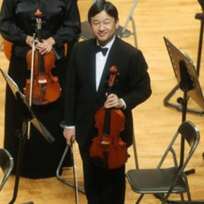 His Imperial Highness Crown Prince Naruhito of Japan Performs with the Gakushuin OB Orchestra. (VIDEO)