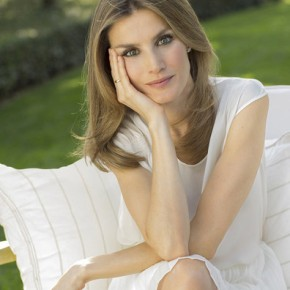 Her Royal Highness Princess Letizia of Asturias Participates in a Meeting in Madrid.
