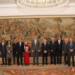 His Royal Highness Prince Felipe of Asturias Presides Over the 22nd Edition of the Premio Bartolomé de lasCasas.