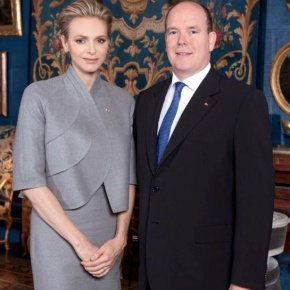 TSHs Prince Albert II and Princess Charlene of Monaco Attend the Opening of the 38th Festival International du Cirque de Monte-Carlo. (VIDEO)