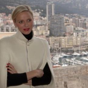 Her Serene Highness Princess Charlene of Monaco Presents anAward.