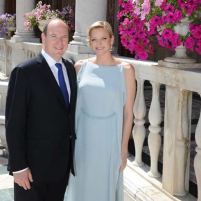 Their Serene Highnesses Prince Albert II and Princess Charlene of Monaco Visit Aurillac, France. (VIDEO)