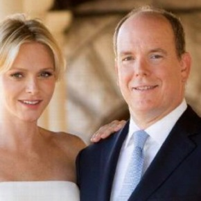 TSHs Prince Albert II and Princess Charlene of Monaco Visit France. (VIDEOS)