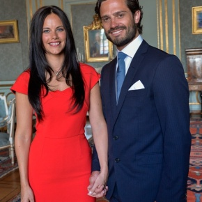 The Swedish Royal Court Releases Official Photos of HRH Prince Carl Philip of Sweden and His Fiancée, Miss Sofia Hellqvist.
