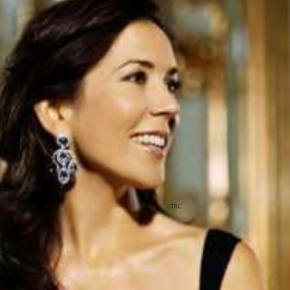HRH Crown Princess Mary of Denmark Attends an Award Ceremony.