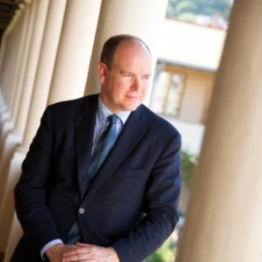 His Serene Highness Prince Albert II of Monaco Attends the 40th Anniversary of the  Galerie Adriano Ribolzi. (VIDEO)