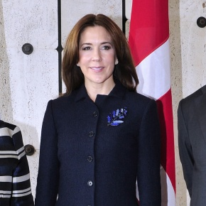 HRH Crown Princess Mary of Denmark Attends a Conference in Geneva, Switzerland.(VIDEO)