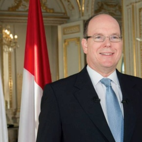 HSH Prince Albert II of Monaco Attends a Conference in Paris, France.