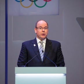 His Serene Highness Prince Albert II of Monaco Opens the 127th International Olympic Committee Session.(VIDEOS)
