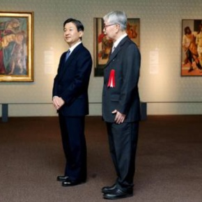 His Imperial Highness Crown Prince Naruhito of Japan Views a Unique Exhibition at the Tokyo Metropolitan Art Museum. (VIDEO)