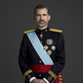 His Majesty King Felipe VI of Spain Holds Audiences.