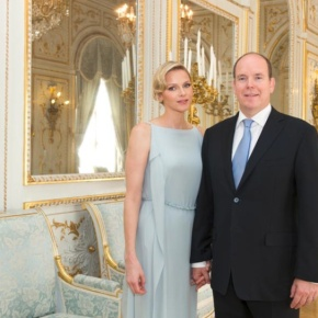 (VIDEO) TSHs Prince Albert II and Princess Charlene of Monaco Attend a Special Mass at the Eglise Sainte Dévote.