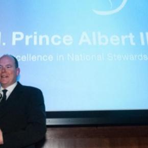 (VIDEO) HSH Prince Albert II of Monaco Receives an Award in Washington,D.C.