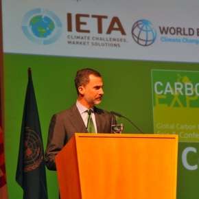 His Majesty King Felipe VI of Spain Opens the 12th Edition of the CarbonExpo.