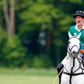 (VIDEO) HRH Prince Harry of Wales Participates in a Charity Polo Match.