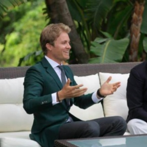 (VIDEO) HSH Prince Albert II of Monaco Meets with Mr. Nico Rosberg.