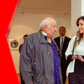 (VIDEO) Her Majesty Queen Rania of Jordan Opens an Exhibit in Amman.