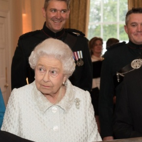 (VIDEO) Members of the British Royal Family Attend the Gurkha 200Pageant.