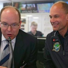 (VIDEOS) Prince Albert II Visits the Solar Impulse 2 Mission Control.  Plus, Other News.