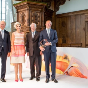 HM Queen Maxima of the Netherlands Attends the 2015 Familiebedrijven Award.