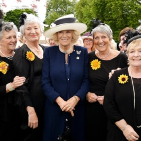 HRH The Duchess of Cornwall and HRH The Countess of Wessex Attend a GardenParty.