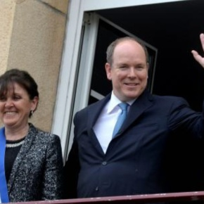 HSH Prince Albert II of Monaco Visits Granville, France.