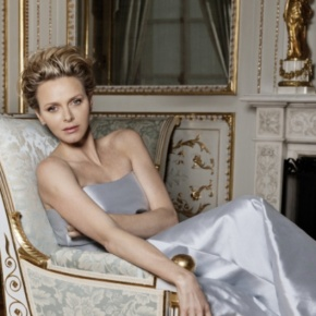 HSH Princess Charlene of Monaco Attends the 55th Edition of the Festival Télévision de Monte-Carlo.