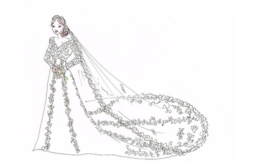 Psssofia for Swedish wedding dress designer