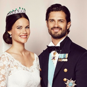 TRHs Prince Carl Philip and Princess Sofia of Sweden: The Official Wedding Photos.