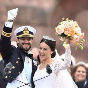(VIDEO) HRH Prince Carl Philip of Sweden Marries the Love of His Life.