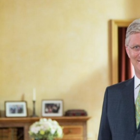 (VIDEO) HM King Philippe of Belgium Gives a Speech on the Occasion of Fête Nationale 2015.