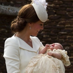 (VIDEOS) A Princess is Christened.