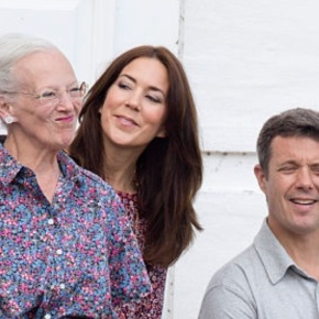 Members of the Danish Royal Family Witness the Changing of theGuard.