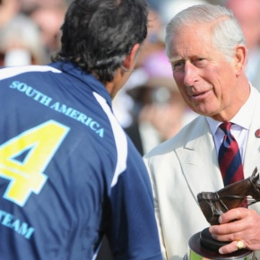 His Royal Highness The Prince of Wales Attends a Charity Polo Match.