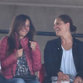 (VIDEO) Members of the Swedish Royal Family Attend a Roxette Concert.
