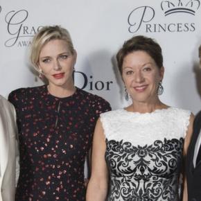 (VIDEO) Prince Albert II and Princess Charlene of Monaco Host an AwardCeremony.