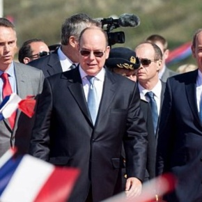 (VIDEOS) HSH Prince Albert II of Monaco Attends an Inauguration in France.