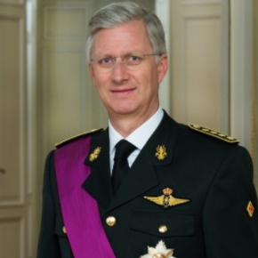 His Majesty King Philippe of Belgium Attends the 11th Edition of the Prix Belgodyssée.