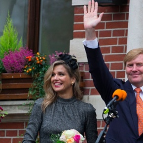 (VIDEOS) The King and Queen of the Netherlands Visit the Province of Limburg.